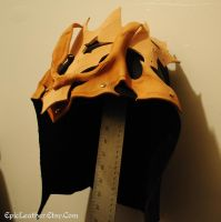 WIP Dragon Assassin's Hood by Epic-Leather