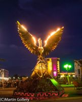 Compression Burning man20140726-196 by MartinGollery
