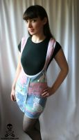 80's Bunny Sweater Skirt by smarmy-clothes
