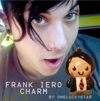 Charms: Frank Iero by OneLuckyStar