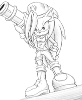 CM: Cyn The Hedgehog by Goophou