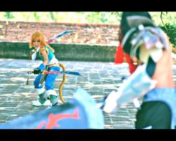 Dissidia: I won't lose by Kynkyn