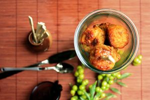 Chicken Meatballs by rosefai