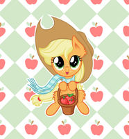 Buy some apples ? - Vector by Agamnentzar