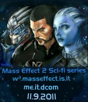 Mass Effect 2    Sci-fi Series by Yunaito88