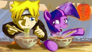 Friendship is Ramen by Zeeclaw