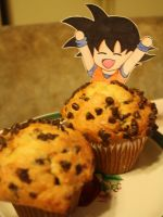 Goku Hit the Muffin Button by PDJ004