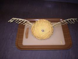 Golden Snitch Cake by purplepineapple77