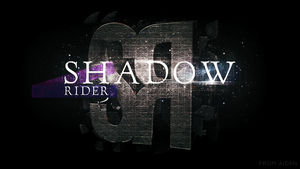 Shadow Rider - Desktop Background by Aidan98