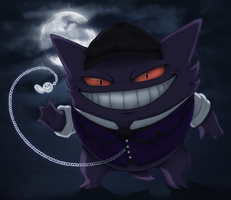 Devilish in the Night by Skudde