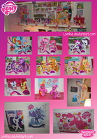Pony collection so far by Lomise