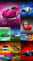 FREE Mobile Wallpapers - CARS by Dooffy-Design