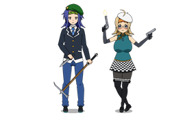 Two More Adoptables by Onikage108