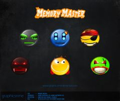 Memory Master smilies by graphicsnme