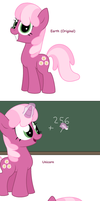 Miss Cheerilee - All Pony Races by Pupster0071