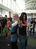 Megacon 2014: Android 17 and 18 by Oblivion-Evil