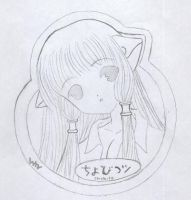Chobits by soakedinbleach