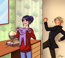 30 days challenge - Miraculous Ladybug 30 by x-Lilou-chan-x
