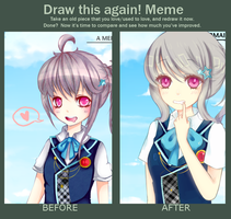 Before and after meme by rainemi