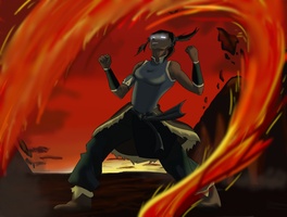 Korra - Avatar State by TreesONature777