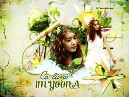 [Wallpaper] Who are you? - YoonA SNSD by jangkarin