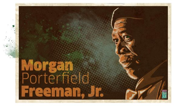 MORGAN Freeman by graf34