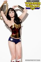 Wonder Woman - Jaimie Alexander by DeviantArtist2006