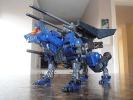 HMM Zoids - Command Wolf Brad Ver. by IrishWolven