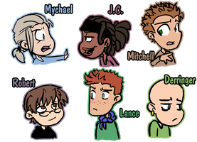 Updated cast 1 by Skyen