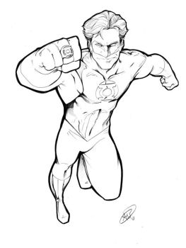 Hal Jordan NYCC by AdamWithers