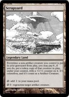 Scrapyard for MTG by Warrior-Within