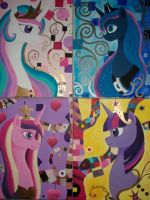 Tree of Life-Pony Princess Frieze by Thunessey