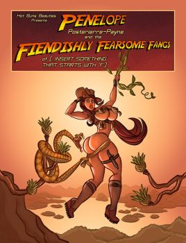 Penelope Posterierre-Payne FFF[F] Cover! by Hot-Buns-Beauties