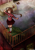 Yume Nikki: Fly by gomimushi