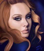 Adele by DiamonikaDunsonArt