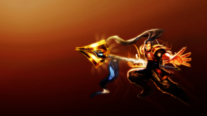 League of Legends Xin Zhao Wallpaper by PinguAlex