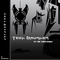 Tech Brushes by MrDraftsman