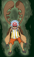 .:SPOILER:. Chopper Horn Point by RedRoronoa