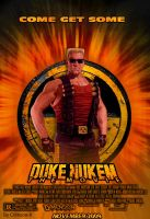 Duke Nukem movie poster by Crimson-X