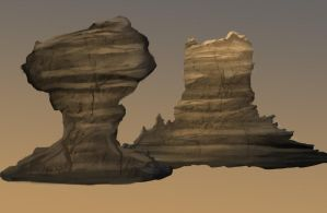 Rock Formation Study by SuedeSneakers