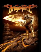Dragonforce Shirt Design 1 by damnengine