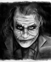 The Dark Knight - Joker by Bobby-Sandhu