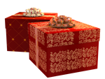 Christmas Gift Boxes PNG Stock by Roys-Art