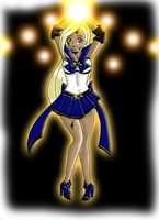 SSX: Sailor Onyx Raven by TenshiNeera