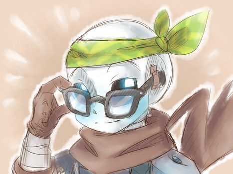 Hipster Boom!Sans by thegreatrouge