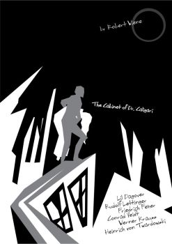 The Cabinet of Dr. Caligari movie poster by PoetaGloriosus