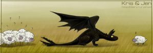 Toothless. by jen-and-kris
