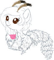 Chenille Pony-late xmas gift by Arianstar