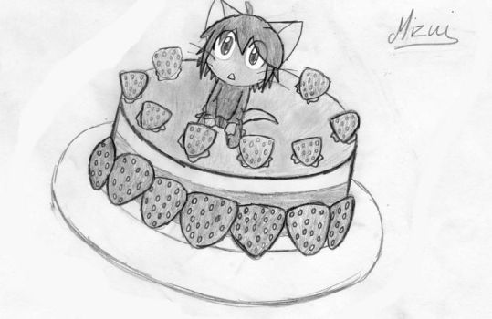 'Delicious and Cute Cake' by Mizui-kun