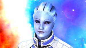 Liara T'soni by elixane